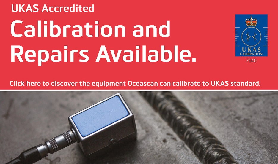 DISCOVER THE EQUIPMENT OCEANSCAN CAN CALIBRATE TO UKAS STANDARD