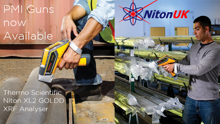 NITON XRF ANALYSERS NOW AVAILABLE AT OCEANSCAN
