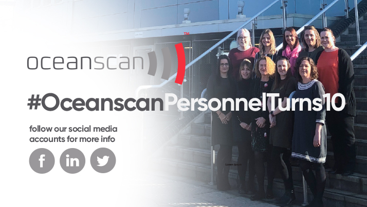 CELEBRATING 10 YEARS OF OCEANSCAN PERSONNEL