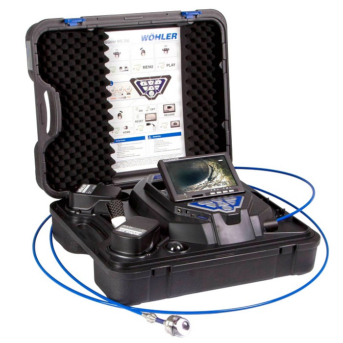 WOHLER VIS 350 VISUAL INSPECTION CAMERA